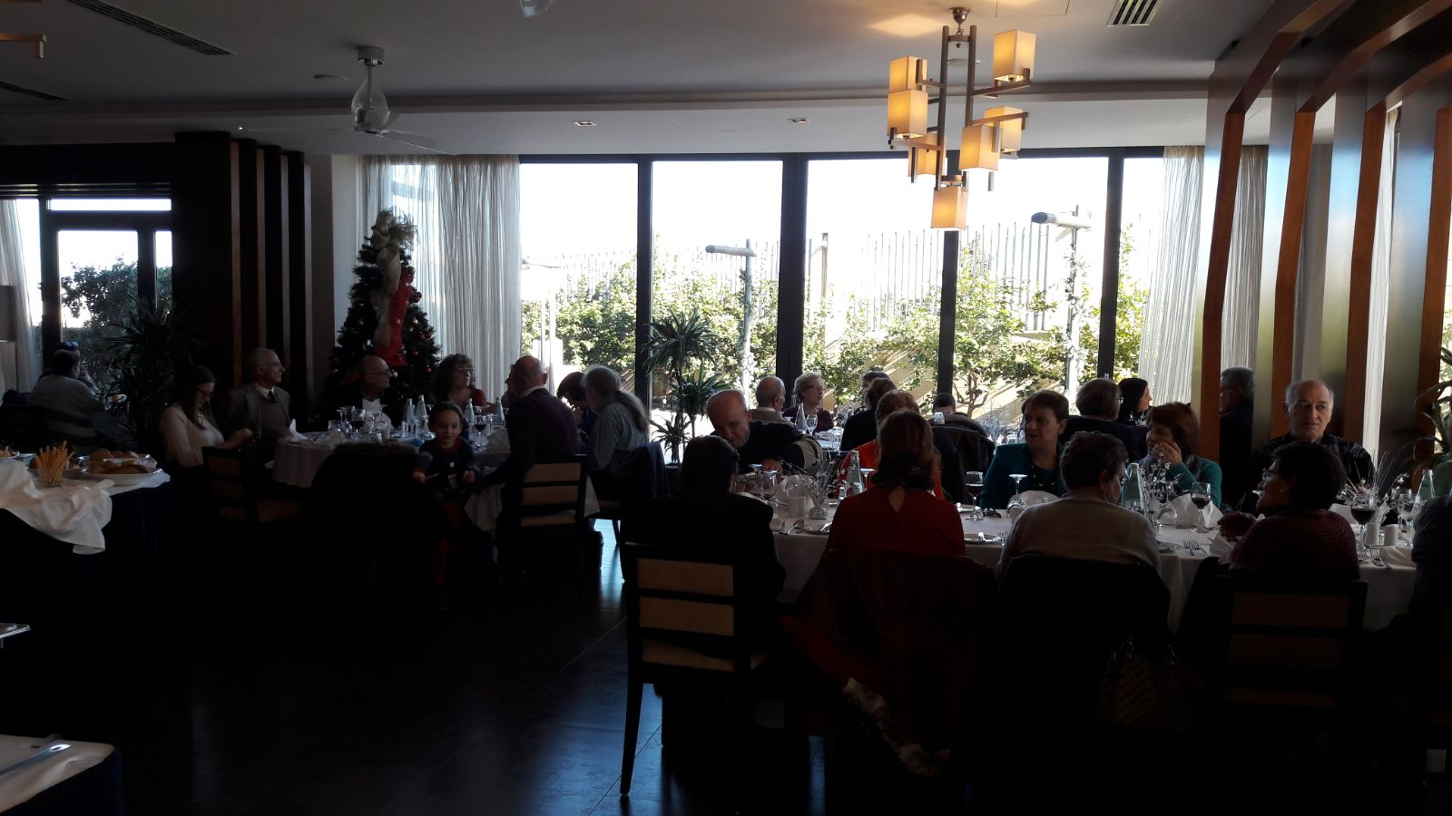 Christmas Lunch at the Hilltop Gardens